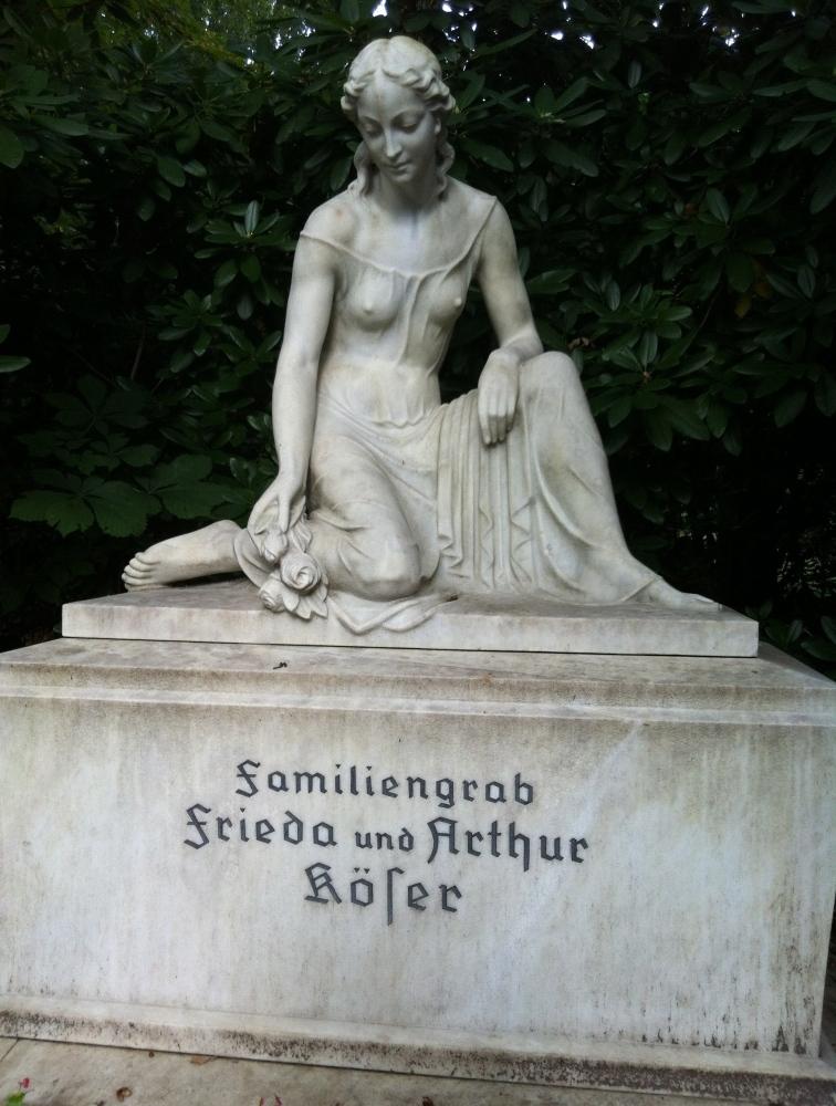 Hambourg, le cimetière de Ohlsdorf et le lion de Istedt (6/6)
