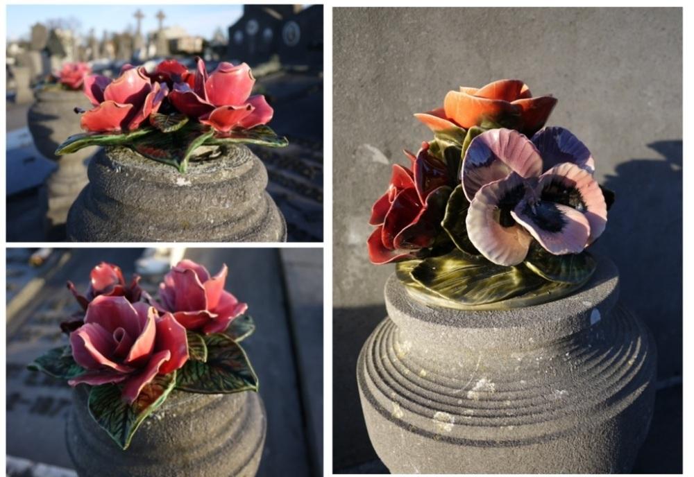 William Davies Evans et les fleurs en céramique (4/6)