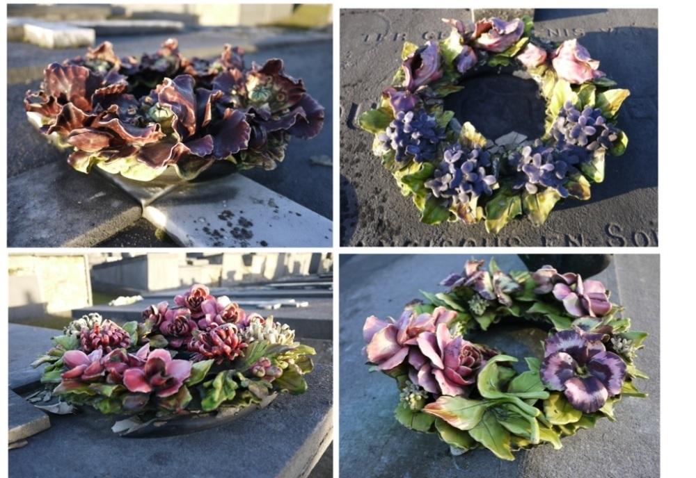 William Davies Evans et les fleurs en céramique (5/6)