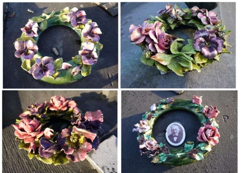 William Davies Evans et les fleurs en céramique (6/6)