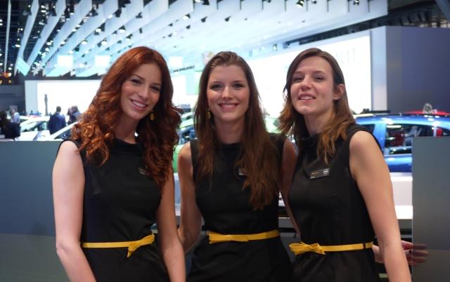 Chez Opel, c'est les hôtesses qui faisaient rêver