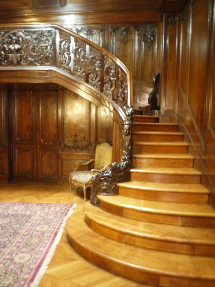 Paris, les journées du patrimoine, l'hôtel de Béhague, ambassade de Roumanie, bibliothèque de l'Arsenal (3/6)