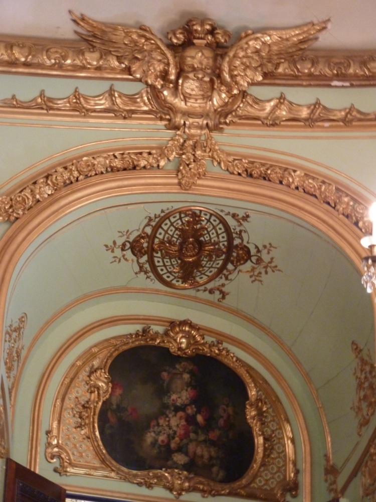 Paris, les journées du patrimoine, l'hôtel de Béhague, ambassade de Roumanie, bibliothèque de l'Arsenal (6/6)
