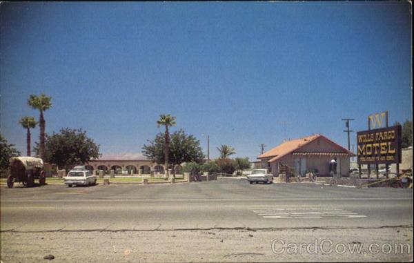 Wills Fargo Motel, P. O. Box 130 Baker