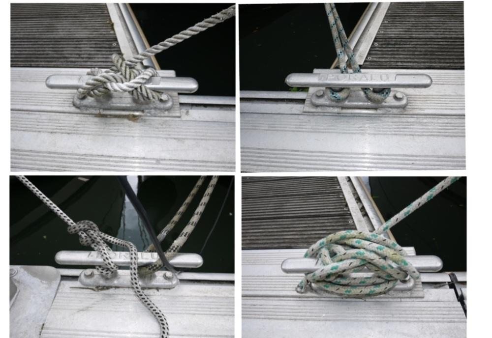 Comment sont amarrés les bateaux au Port de l'Arsenal à Paris (1/6)