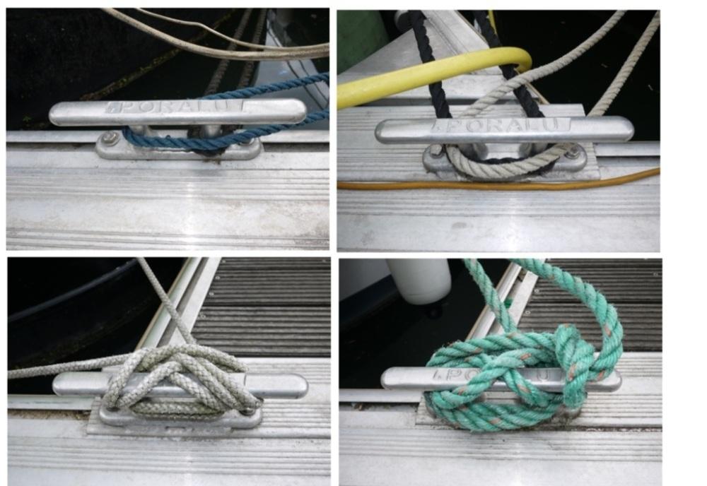 Comment sont amarrés les bateaux au Port de l'Arsenal à Paris (2/6)