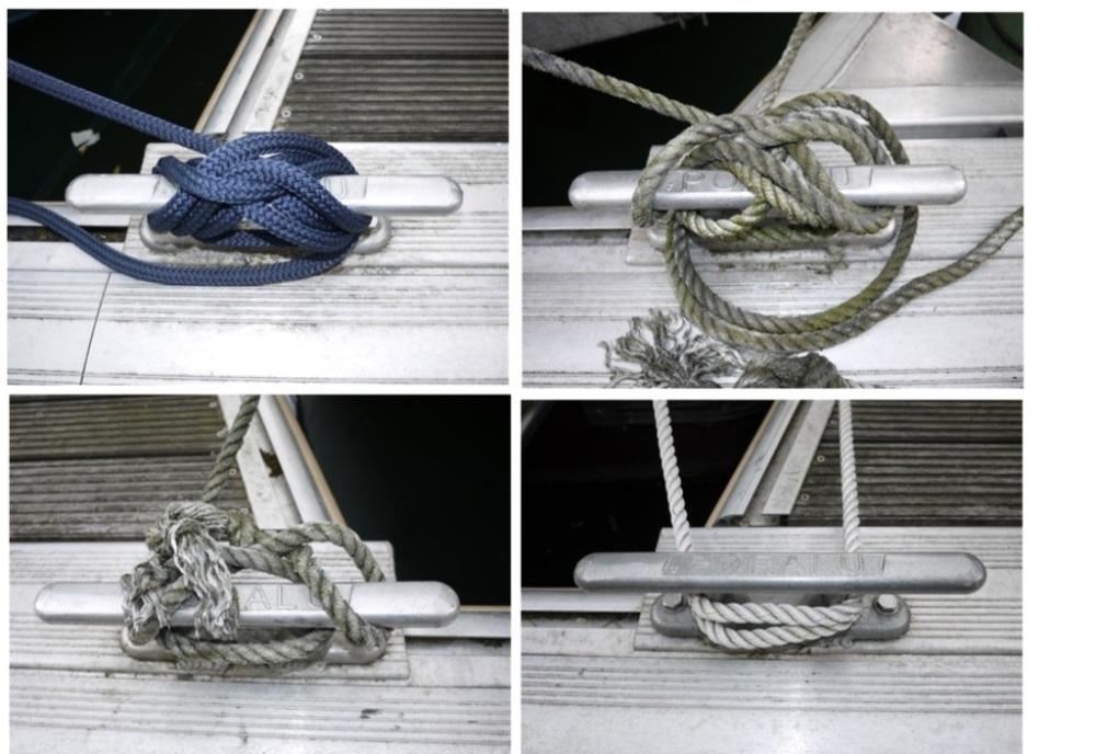Comment sont amarrés les bateaux au Port de l'Arsenal à Paris (5/6)