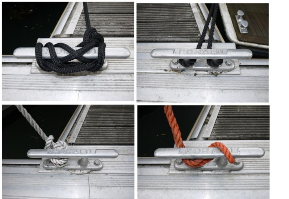 Comment sont amarrés les bateaux au Port de l'Arsenal à Paris (4/6)