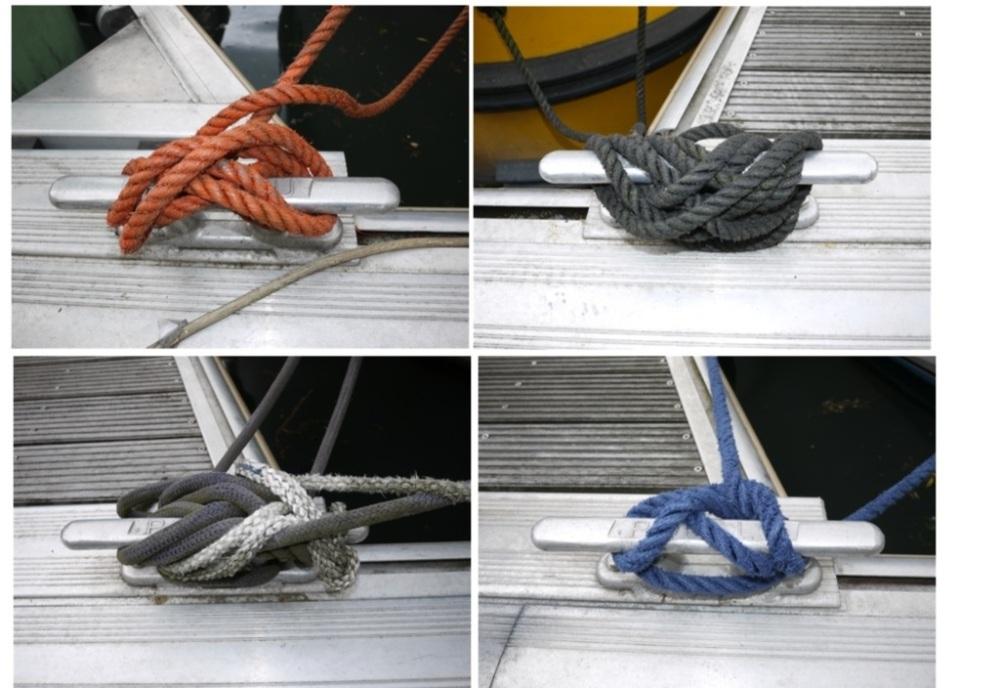 Comment sont amarrés les bateaux au Port de l'Arsenal à Paris (6/6)