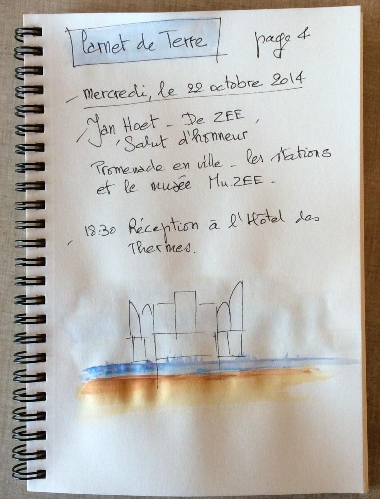 Carnet de Terre # 4 - Jan Hoet et l'exposition De ZEE (1/6)