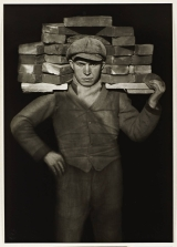 Bricklayer 1928 August Sander 1876-1964 ARTIST ROOMS Tate and National Galleries of Scotland. Lent by Anthony d'Offay 2010 http://www.tate.org.uk/art/work/AL00038